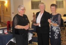 Norma Flowerday Birdie trophy winner