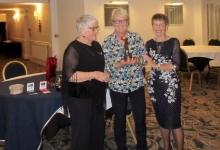 Pat Rice Winner of Partridge Tree Trophy