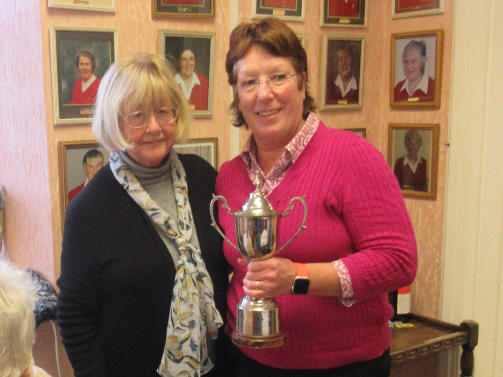 Sue King Winner of Doreen Winters Trophy