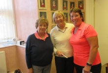Runners Up Sue K & Carol Ladies Invitation