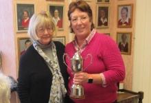 Sue King Winner of Doreen Winters Trophy