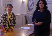 Mandy wins Visitor's Trophy