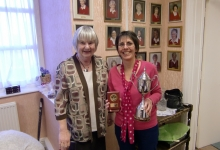 Doreen Winter Trophy 2014 - Captain Ceri & Ann Jones