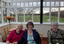 Sue Davies, Joan McGowan, Captain Ceri